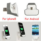 Portable USB Wireless Mini Wall Charger Adapter Dock For iPhone 5/5s 6/6 plus