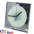 """USA Stock 20pcs 7.8"""" x 7.8"""" Sublimation Blank Glass Photo Frame with Clock"""
