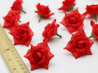 DIY 30-100PCS 5.5cm Artificial Rose silk flowers heads wedding gifts wholesale