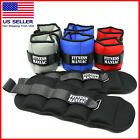 Adjustable Straps Ankle Wrist Weights Fitness Exercise Training 4 6 8 10 lbs