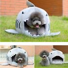 Gomaomi® Shark Shape Pet Bed Cat Dog House Cave With Removable Cushion