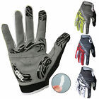 Hot Cycling Bike Bicycle Full Finger Gloves Anti-slip GEL Windproof gloves M-XL