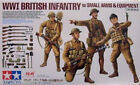 Tamiya 1/35 WWI British Infantry with Small Arms & Equipment  32409 1 35