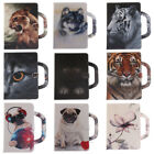 Cute Animal Pattern Leather Flip Protector Case Cover For iPad Mini123 Air 2 Pro