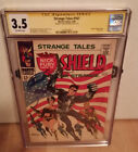 Strange Tales #167 CGC SS (3.5) Signed Steranko Flag Cover Nick Fury