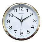 10 inches Wall Clock, ChuangRong Newest Non ticking Silent Sweeping Seconds Quar