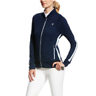 Ariat Aiken Womens Full Zip Jacket - Navy Blue
