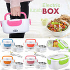 Portable Electric Heated Lunch Box Compact Heating Food Warmer Travel Camping UK