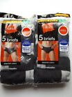 Hanes Men's Tagless Briefs No Ride  Cotton Assorted Colors Available In M L XL