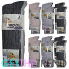 Women Chunky Wool Socks LambsWool Long Thick Thermal Winter Warm Blend Pack 4-7