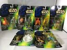 Star Wars Hasbro POTF Green Carded Action Figures 1996-97 Large Selection $6.5 USD