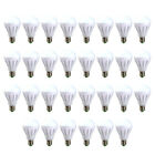 10PK 5W 7W Daylight (6500K) E27 Soft White(3000K) LED Light Bulb Energy Saving