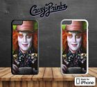 Alice In Wonderland Mad Hatter Cool Hard Case Cover for all iPhone Models R15