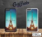 Paris City Of Love Live Your Dream Hard Case Cover for all iPhone Models Q18