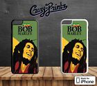 Bob Marley Robert Nesta Reggae Artist Cool Hard Case Cover for iPhone Models A1
