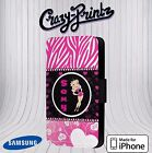 Betty Boop Inspired Sexy Idol Pretty Pink Phone Cover Leather Flip Case A42 £8.54 GBP on eBay