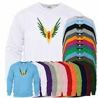 Maverick Color Eagle Mens Sweat Amazing Funny Pullover Sweatshirt Sweater