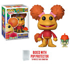 Funko Pop TV  Fraggle Rock 35 Years Set or Individual Vinyl w Protector Case