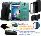 "for 5"" BLU Studio R1 HD BLU R1 HD 2016 Case Cover Screen Protector Clip Holster"