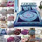 Duvet Cover With Pillow Cases Quilt Cover King Size Double Single & Super King