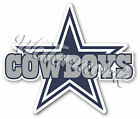 Dallas Cowboys Star with text Sticker Vinyl Decal / Sticker 5 sizes!! $2.99 USD on eBay