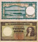 Countries Low Banknotes circulation ext Year: 1945 number 00076 MBC 20 Guld
