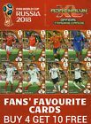 FANS FAVOURITE ADRENALYN XL FIFA WORLD CUP 2018 CARDS - BUY 4 GET 10 FREE
