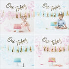 One Today 1st Birthday Boy Girl Cake Smash Complete Party Photo DIY Kit Bunting
