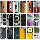 Fashion Tape Pattern Rubber Ultra Thin TPU Phone Case Cover for iPhone 5 5S SE