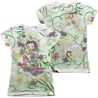 Betty Boop FLOWER FAIRY 2-Sided Sublimated All Over Print Poly Juniors T-Shirt $27.94 USD