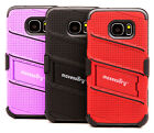 high end cell phone cases - Fits Samsung Galaxy S7 Case, High-End Plaid Protector Hybrid Cover