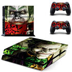 Joker Decal PS4 Skin Sticker for Playstatiion 4 Console System & Two Controllers