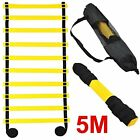 Agility Ladder Speed Training For Soccer Football Rugby W/ Carry Bag, 10 Rung