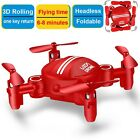 Drone for Kids Headless Mini RC Quadcopters Foldable Remote Control Helicopte...