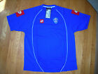 SERBIA & MONTENEGRO HOME BLUE S/S 2003/05 2XL LOTTO FOOTBALL SOCCER SHIRT JERSEY image