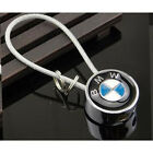 For BMW Car Logo Titanium Key Chain keychain Ring Keyfob Metal Keyrings Holder
