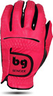 BENDER COLOR GOLF GLOVE ● Pink (Dark) Synthetic - Cabretta Leather
