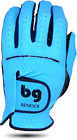 Sky Blue Synthetic Golf Glove
