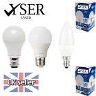 LED BULB 3W 5W 7W 12W B22 E27 E14 GLS Candle Lamp Light Bulbs Warm Cool White