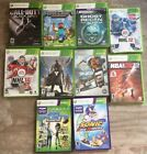Lot of 10 Pre-owned  Xbox 360 Games With Original Cases!