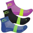 Mens More Mile Preventer Dual Twin Skin Trainer Running Socks Shoe Size