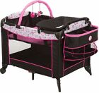 Playard Minnie Mouse Baby Infant Bassinet Safety Play Pen Craddle Changing Table