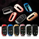 Soft TPU Reflective Remote Smart Key Fob Cover Case Fit for Jeep Chrysler Dodge $9.88 USD on eBay