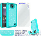 for ZTE Majesty Pro majestypro + PLUS Case Screen Film Shock Bumper Edges Cover