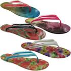 Women's Essence of Summer Beach Photo Jelly Flip Flops