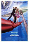 65866 A View To Kill Movie Roger Moore, Tanya Roberts Wall Print Poster AU $24.95 AUD on eBay
