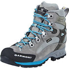 Garmont Rambler GTX Shoes Women warm grey/aqua blue 2017 Schuhe grau
