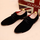 Chic Mens Spring Dress Business Lace up Oxfords Vintage Retro Boots Formal Shoes