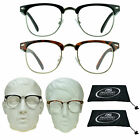 MULTI FOCAL Progressive Horned Rim COMPUTER Reading Glasses Readers 3 Zones