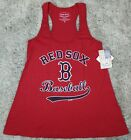 Majestic Threads BOSTON RED SOX MLB WOMENS Racerback TANK TOP M-L-XL